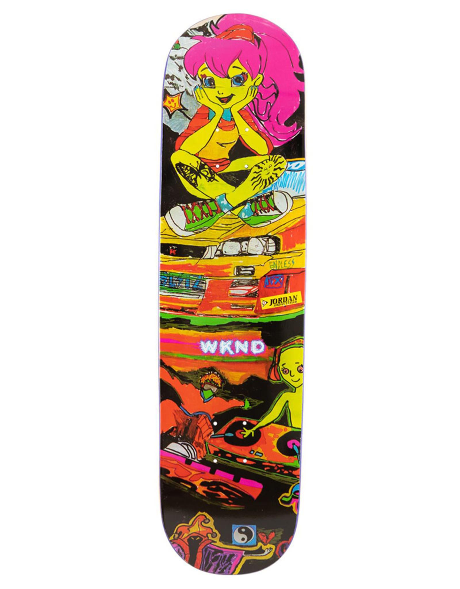 Wknd Skateboards Wknd Deck Jordan Taylor Sympathy Dropout (8.125)
