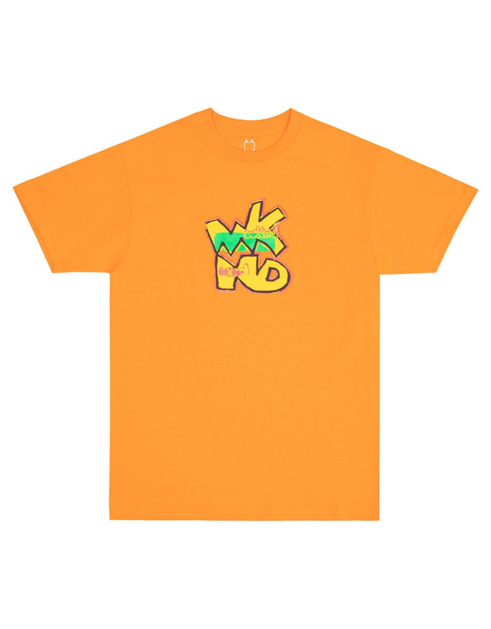 Wknd Skateboards Wknd Tee Happy Feet S/S (Orange)