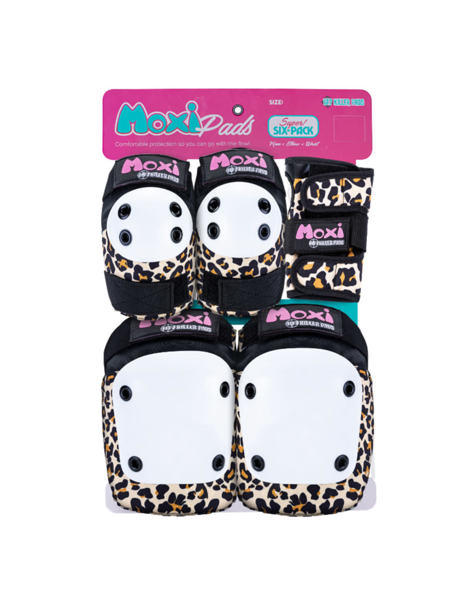 187 Killer Pads 187 Killer Pads Junior (Moxi Leopard)