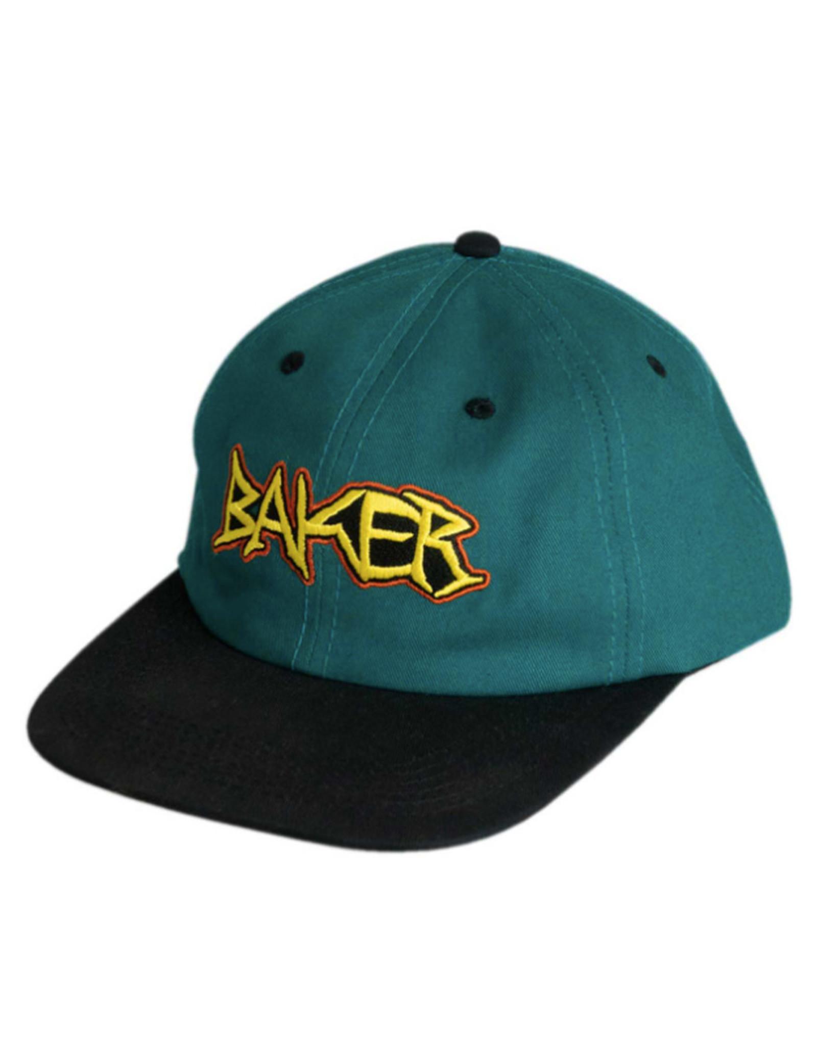 Baker Baker Hat Dagger Snapback (Teal)
