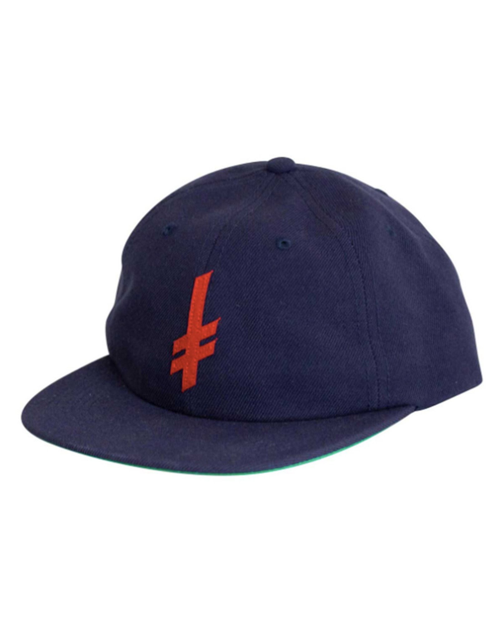 Deathwish Deathwish Hat Gang Logo Wool Snapback (Navy)
