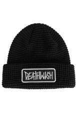 Deathwish Deathwish Beanie Deathspray Waffle Cuff (Black)