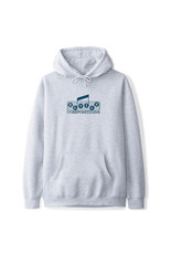Butter Goods Butter Goods Hood Compositions Embroidered Pullover (Heather Grey/Navy)