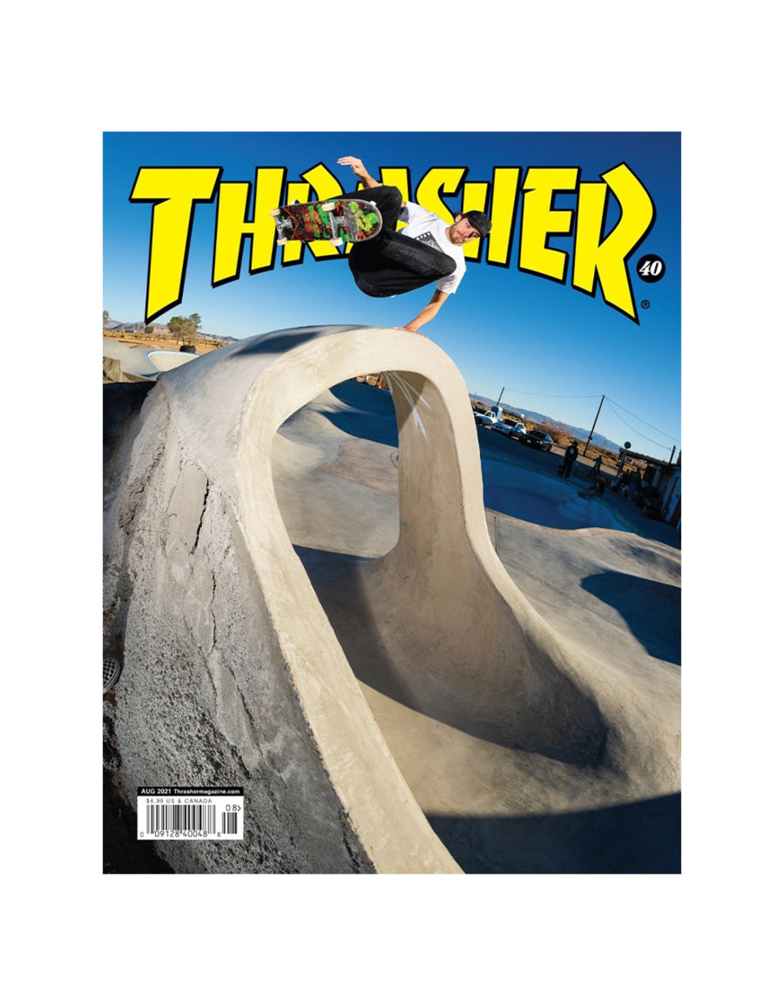 Thrasher Thrasher Magazine (August 2021)