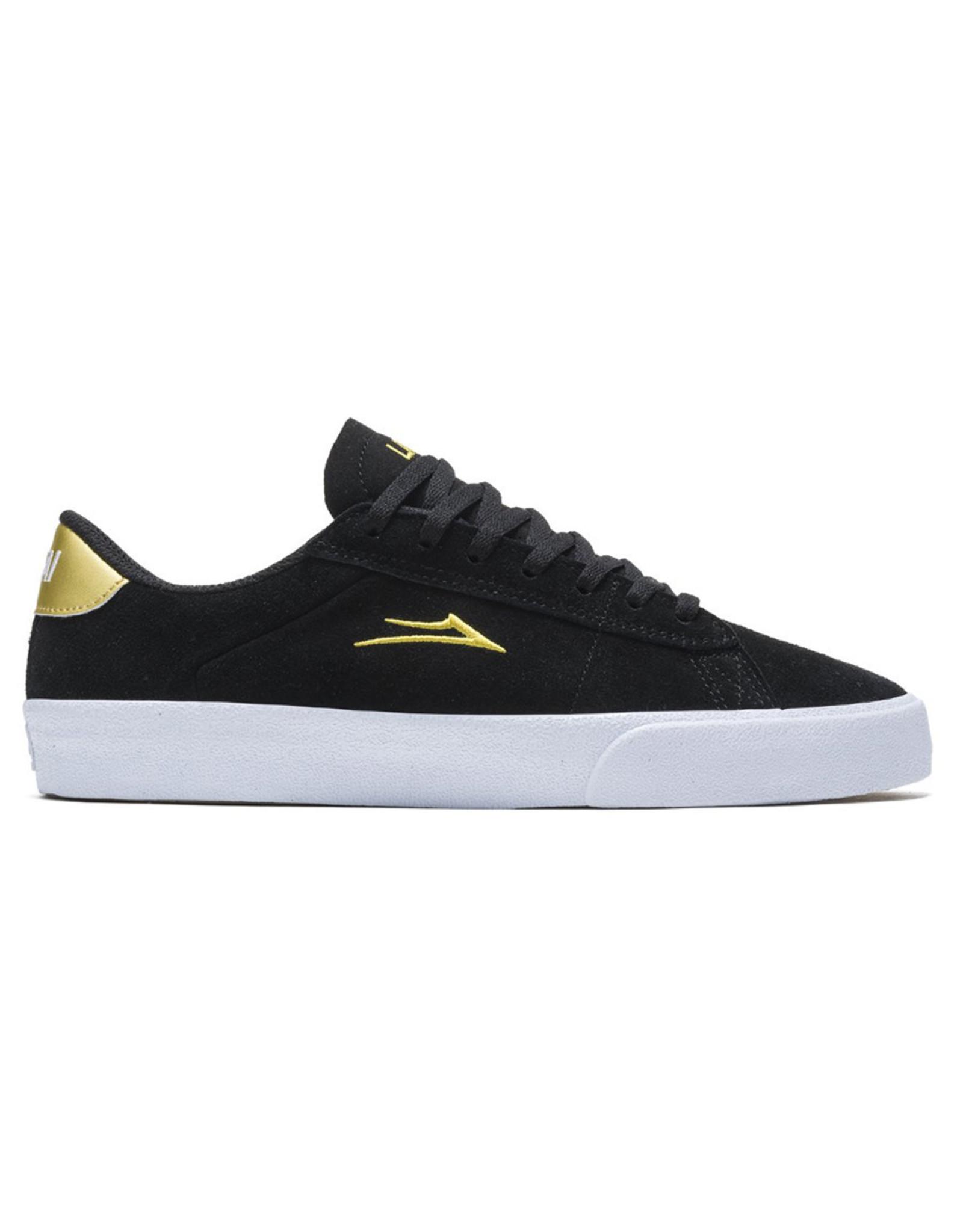 Lakai Shoes Lakai Shoe Newport (Black/Gold Suede)