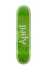 April April Deck Team Logo Green Inverted (8.0)