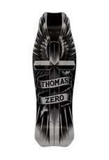 Zero Skateboards Zero Deck Jaime Thomas Wings Of Glory Silver (10.0)