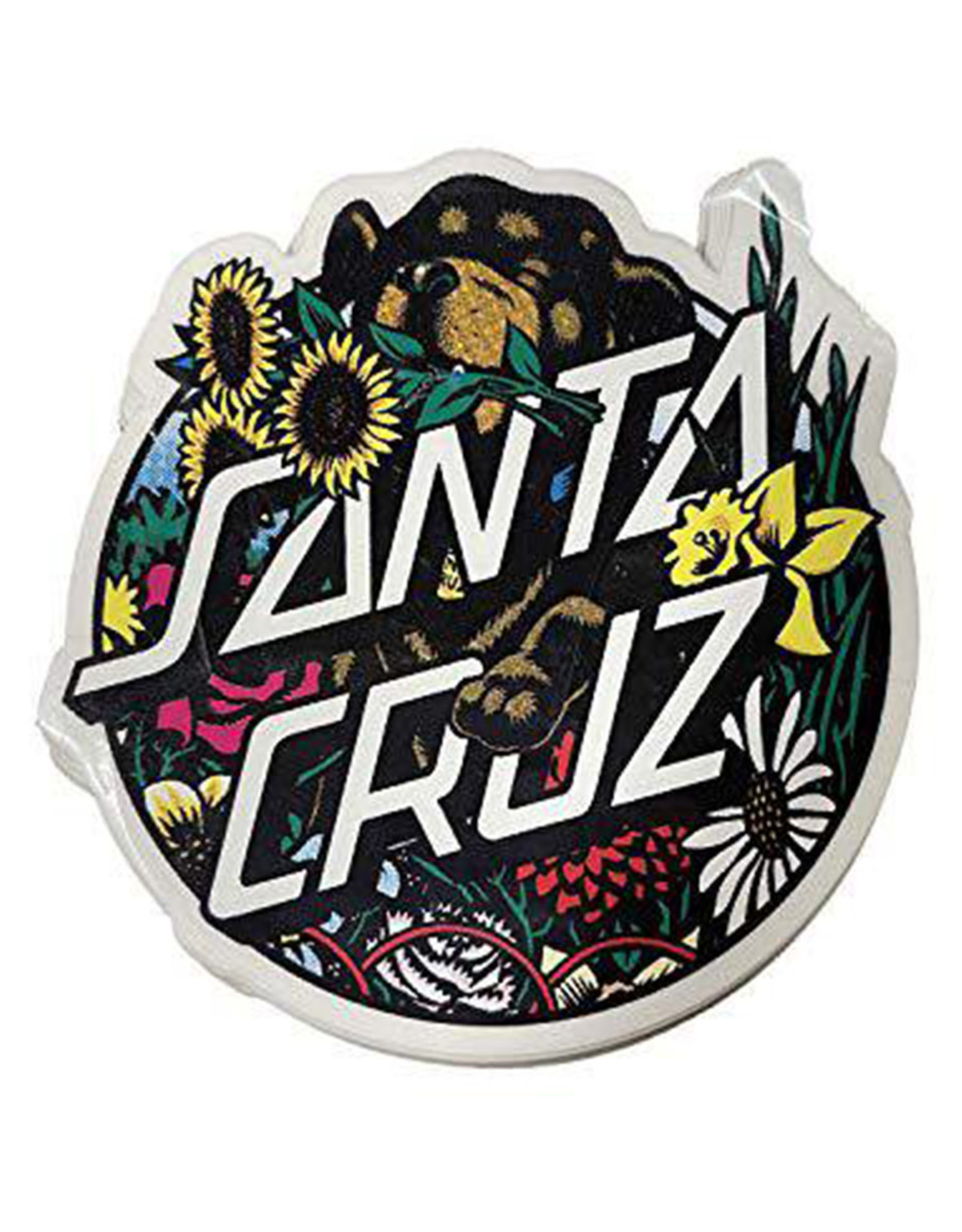 """Santa Cruz Santa Cruz Sticker Dressen Pup Multi (4"""")"""