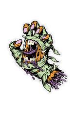 "Santa Cruz Santa Cruz Sticker Mummy Hand (5"")"