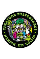 """Creature Creature Sticker Keepin Em Rollin Multi (3"""")"""