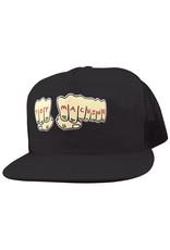 Toy Machine Toy Machine Hat Fists Trucker Snapback (Black/Black)
