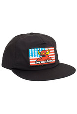 Toy Machine Toy Machine Hat American Monster Unstructured Snapback (Black)