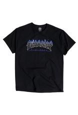 Thrasher Thrasher Tee Mens Godzilla Charred S/S (Black)