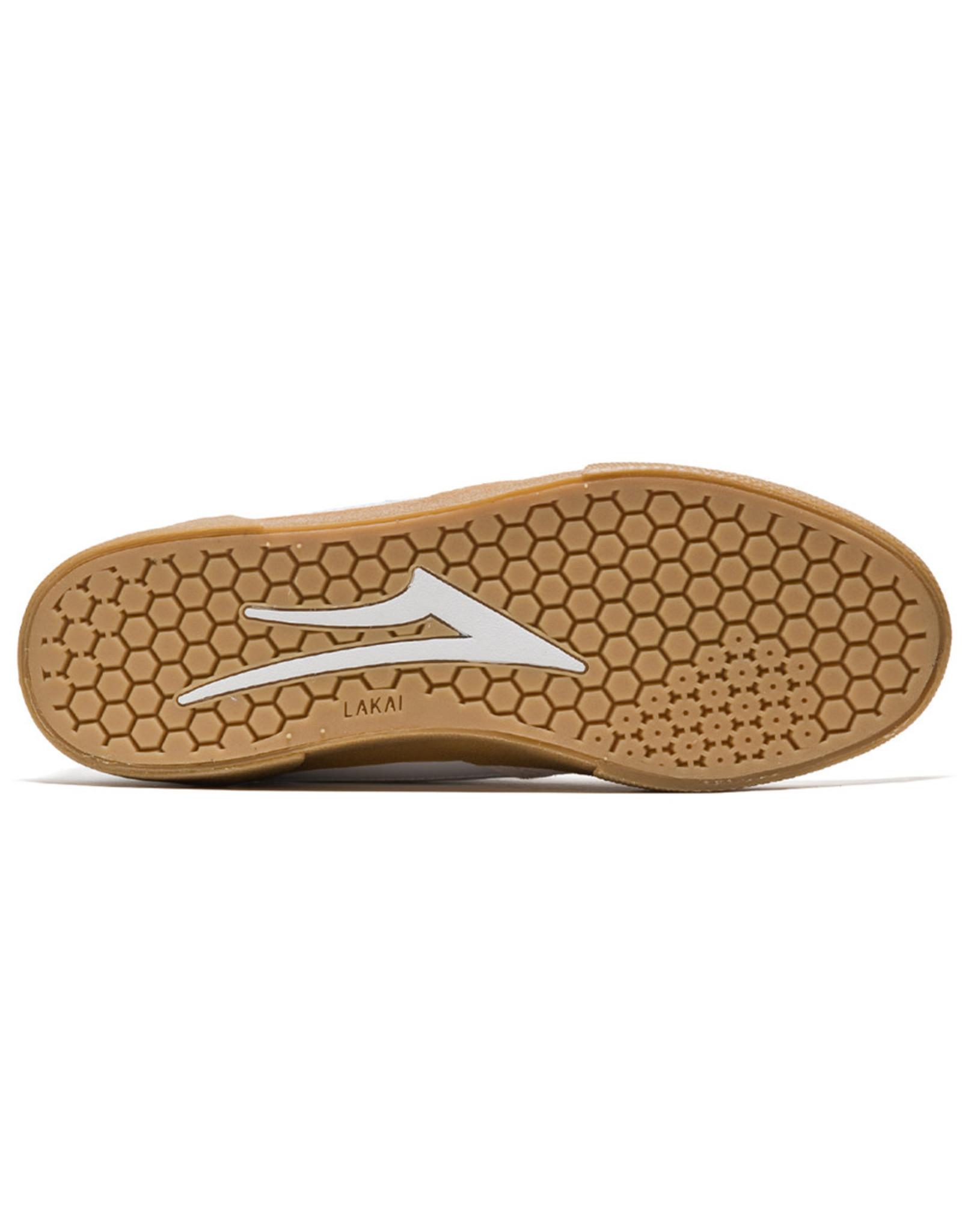 Lakai Shoes Lakai Shoe Cambridge (White/Gum Suede)