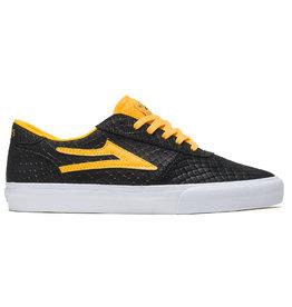 Lakai Shoes Lakai Shoe Manchester Doom Sayers (Black/Gold Suede)