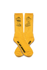 Lakai Shoes Lakai Socks Doom Sayers Crew (Yellow)