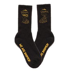 Lakai Shoes Lakai Socks Doom Sayers Crew (Black)