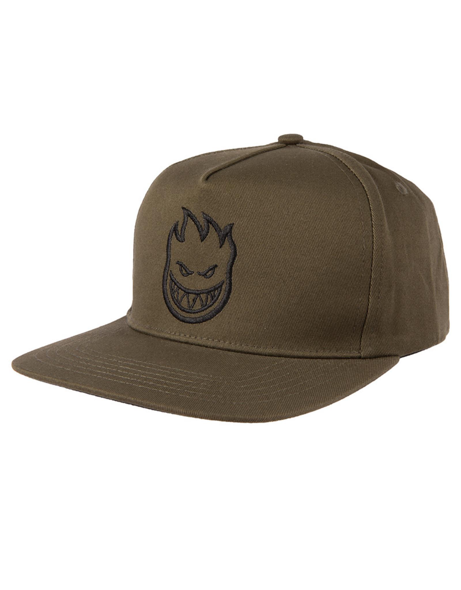 Spitfire Spitfire Hat Bighead Snapback (Olive/Black)