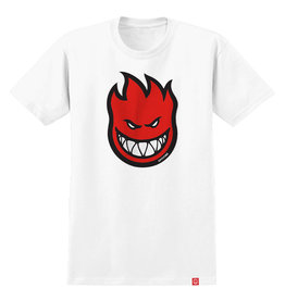 Spitfire Spitfire Tee Bighead Fill S/S (White/Red)
