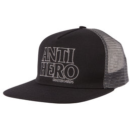 Anti Hero Anti Hero Hat Blackhero Outline Snapback Trucker (Black/Black)
