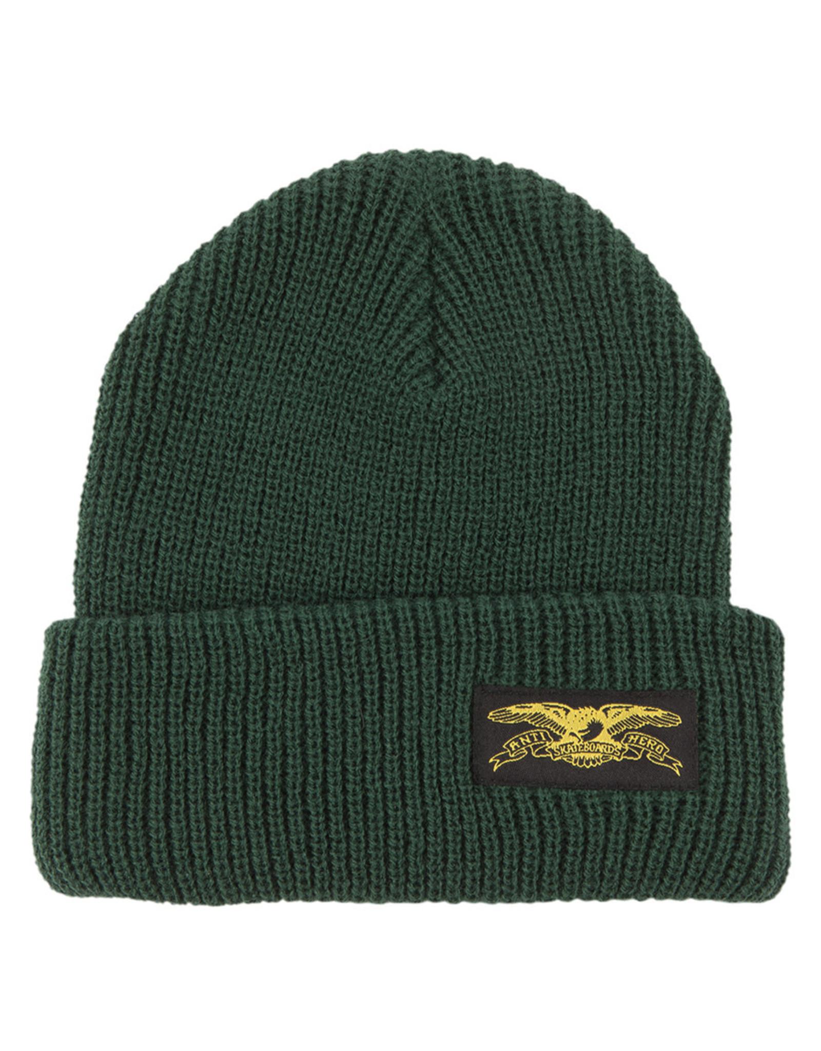 Anti Hero Anti Hero Beanie Stock Eagle Label Cuff (Dark Green)