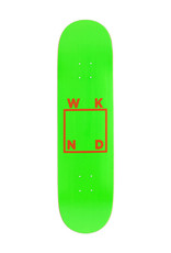 Wknd Skateboards Wknd Deck Team Logo Green/Orange (8.0)