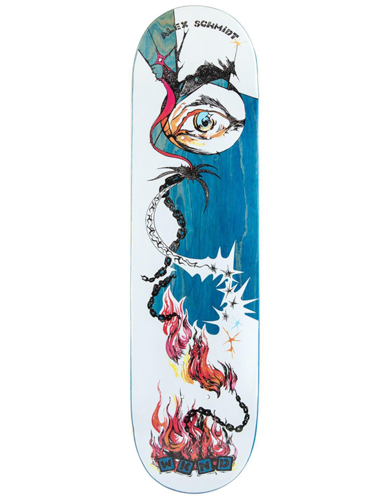 Wknd Skateboards Wknd Deck Alex Schmidt Fire (8.25)