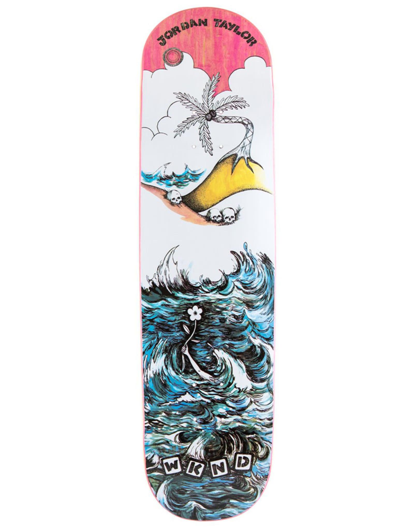 Wknd Skateboards Wknd Deck Jordan Taylor Water (8.25)
