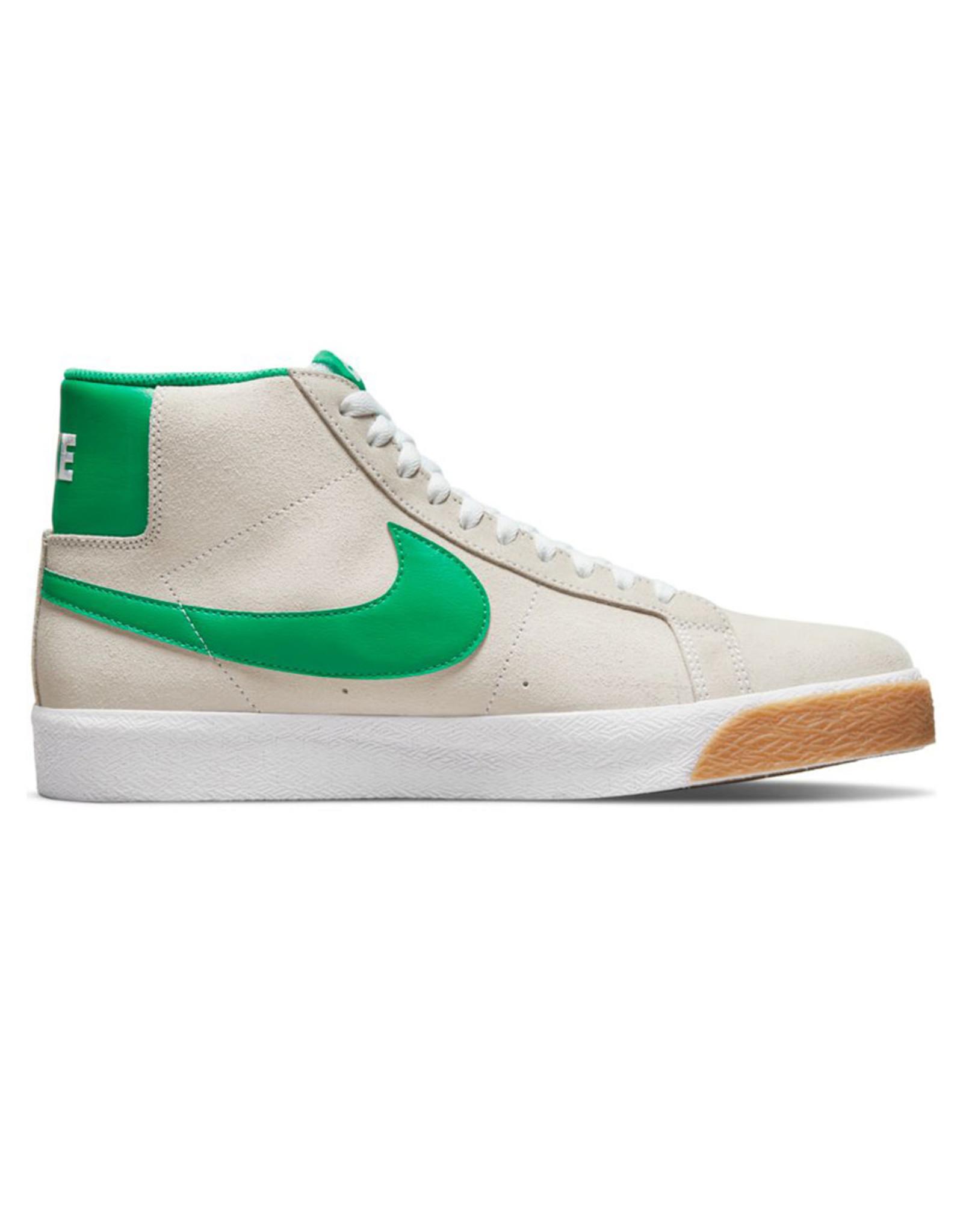 Nike SB Nike SB Shoe Zoom Blazer Mid (White/Lucky Green)