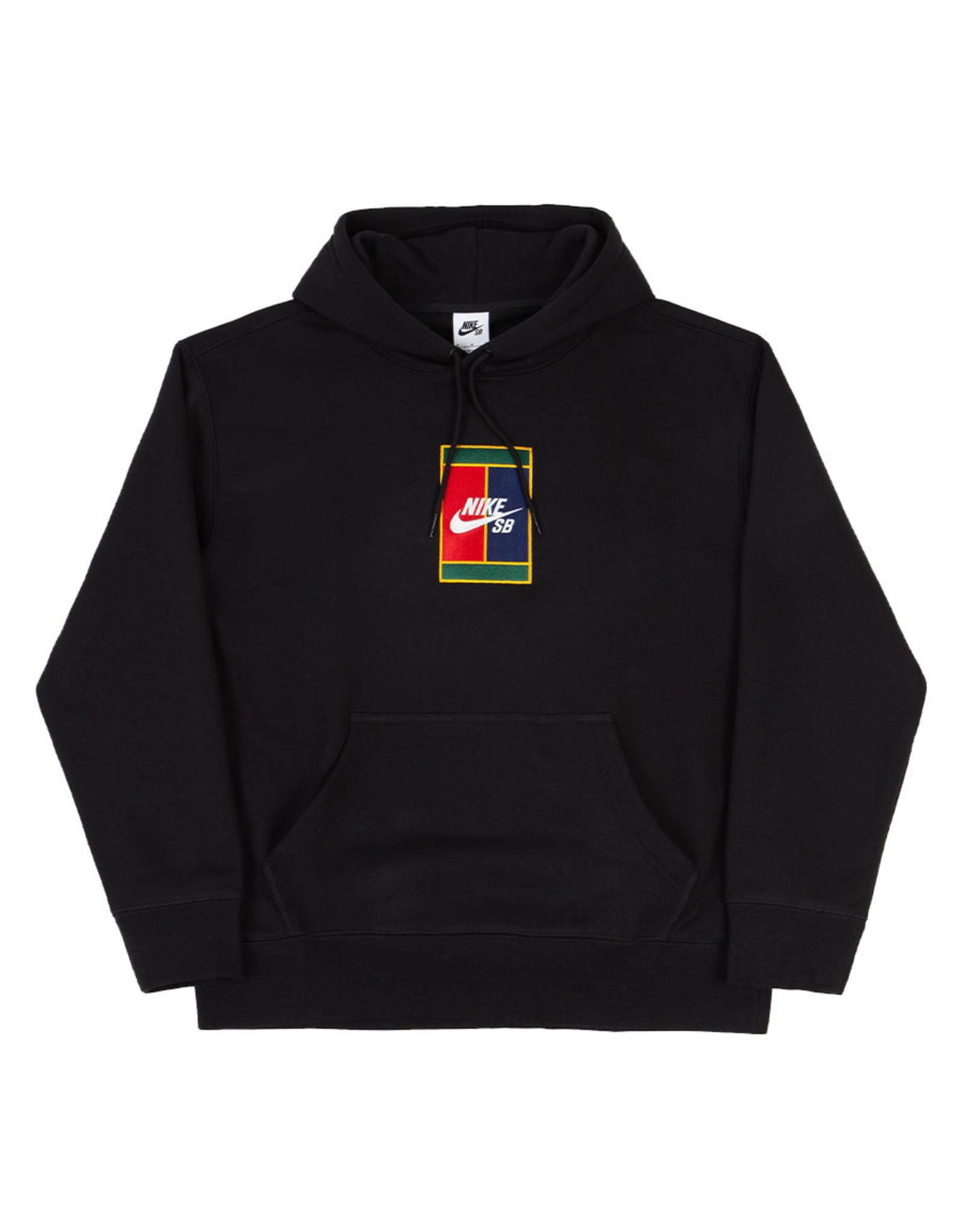 Nike SB Nike SB Hood Court Graphic Skate Pullover (Black/Black)
