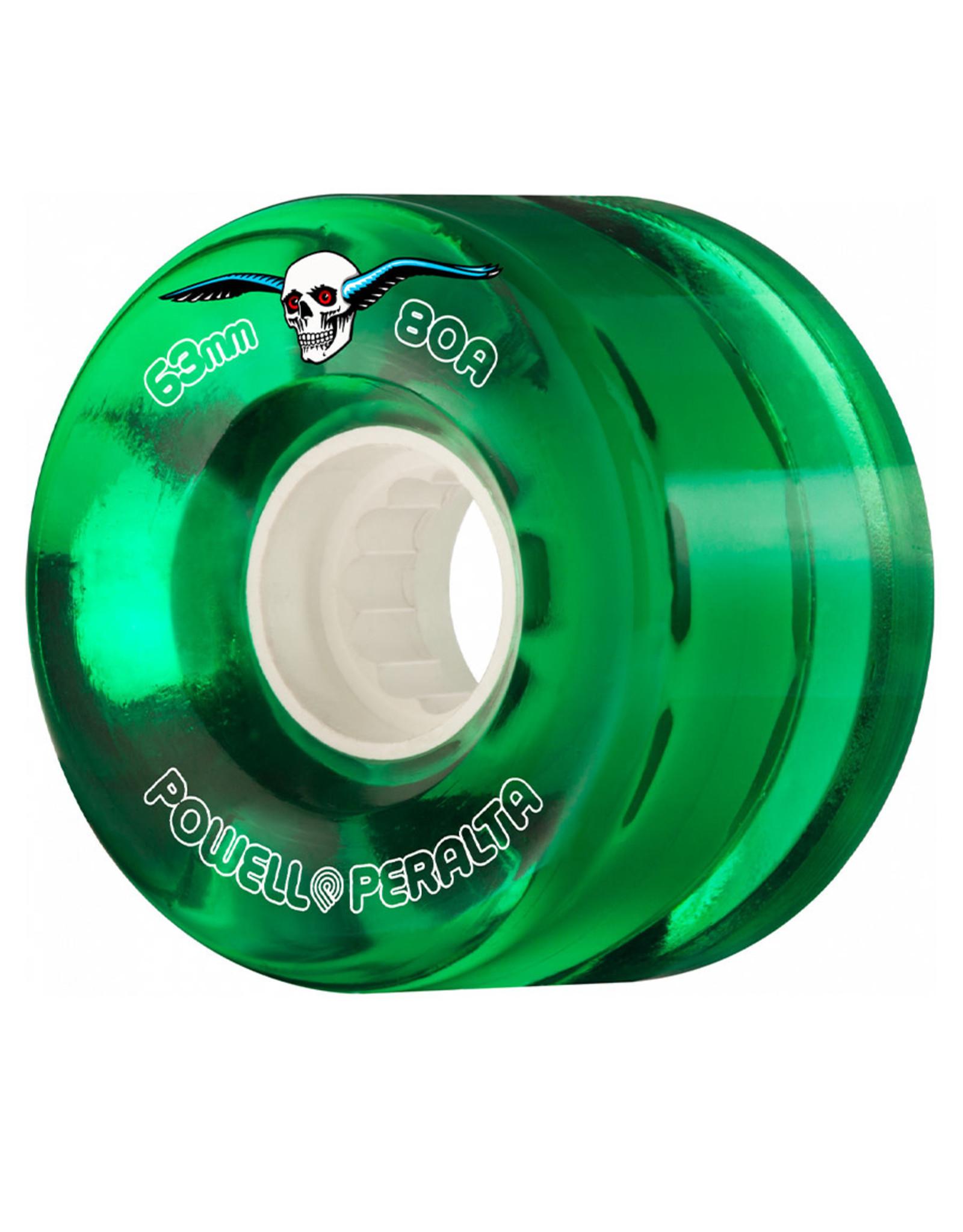 Powell Peralta Powell Peralta Wheels H8 Clear Green Cruiser (55mm/80a)