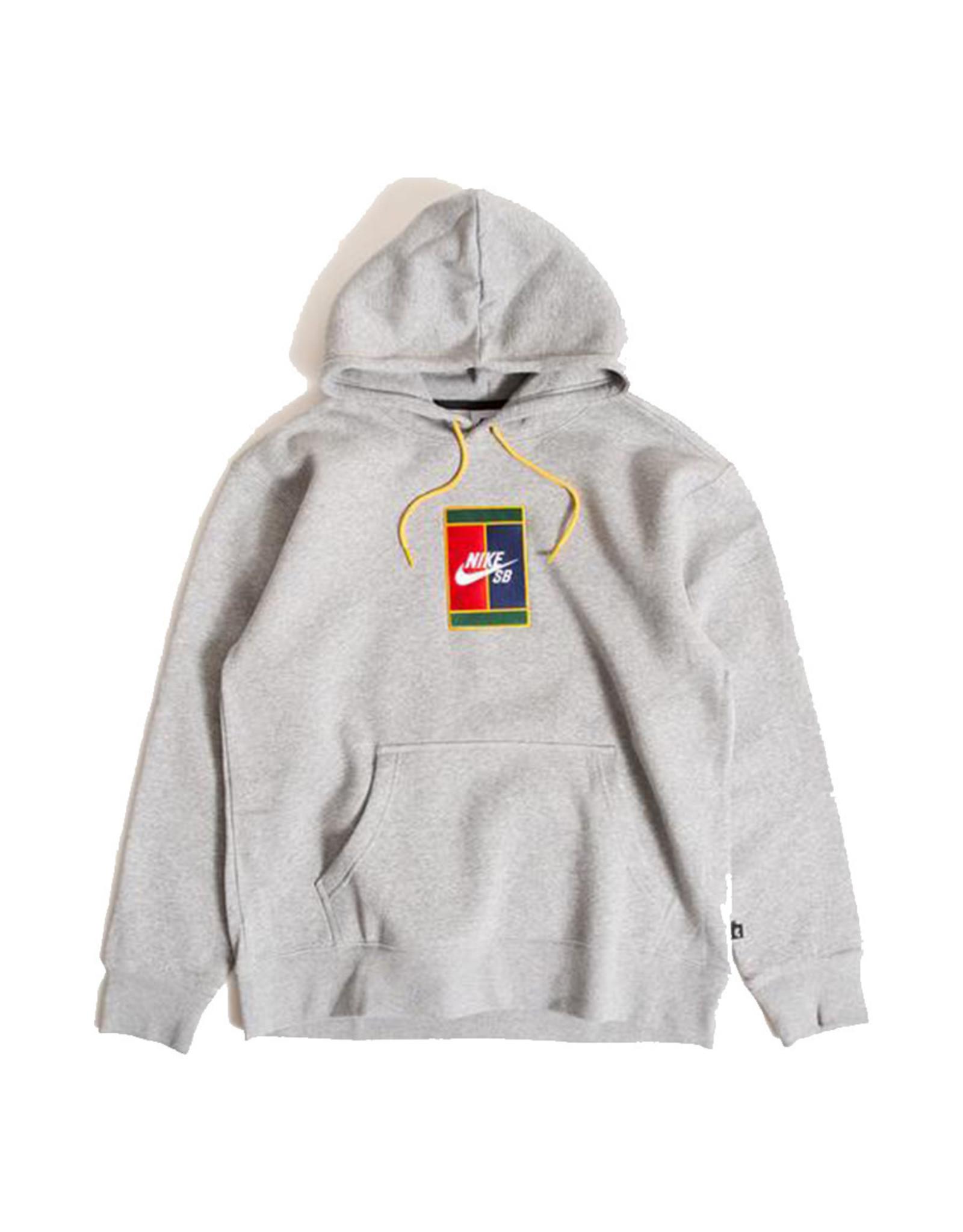 Nike SB Nike SB Hood Court Graphic Skate Pullover (Grey)
