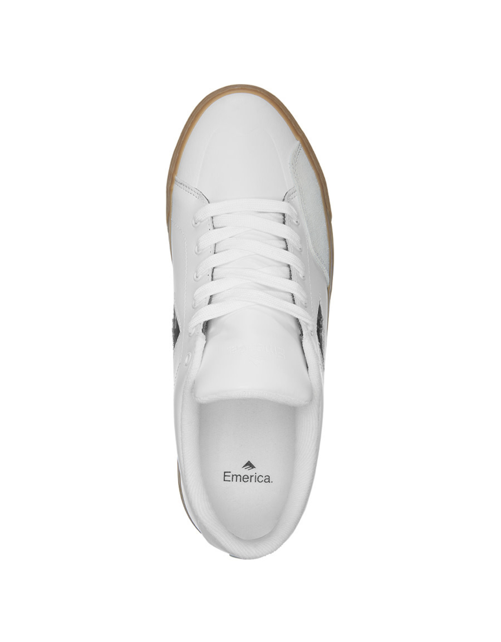 Emerica Emerica Shoe Temple (White/Gum)