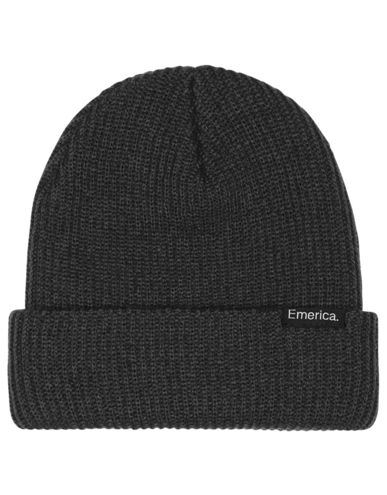 Emerica Emerica Beanie Logo Clamp Cuff (Black)
