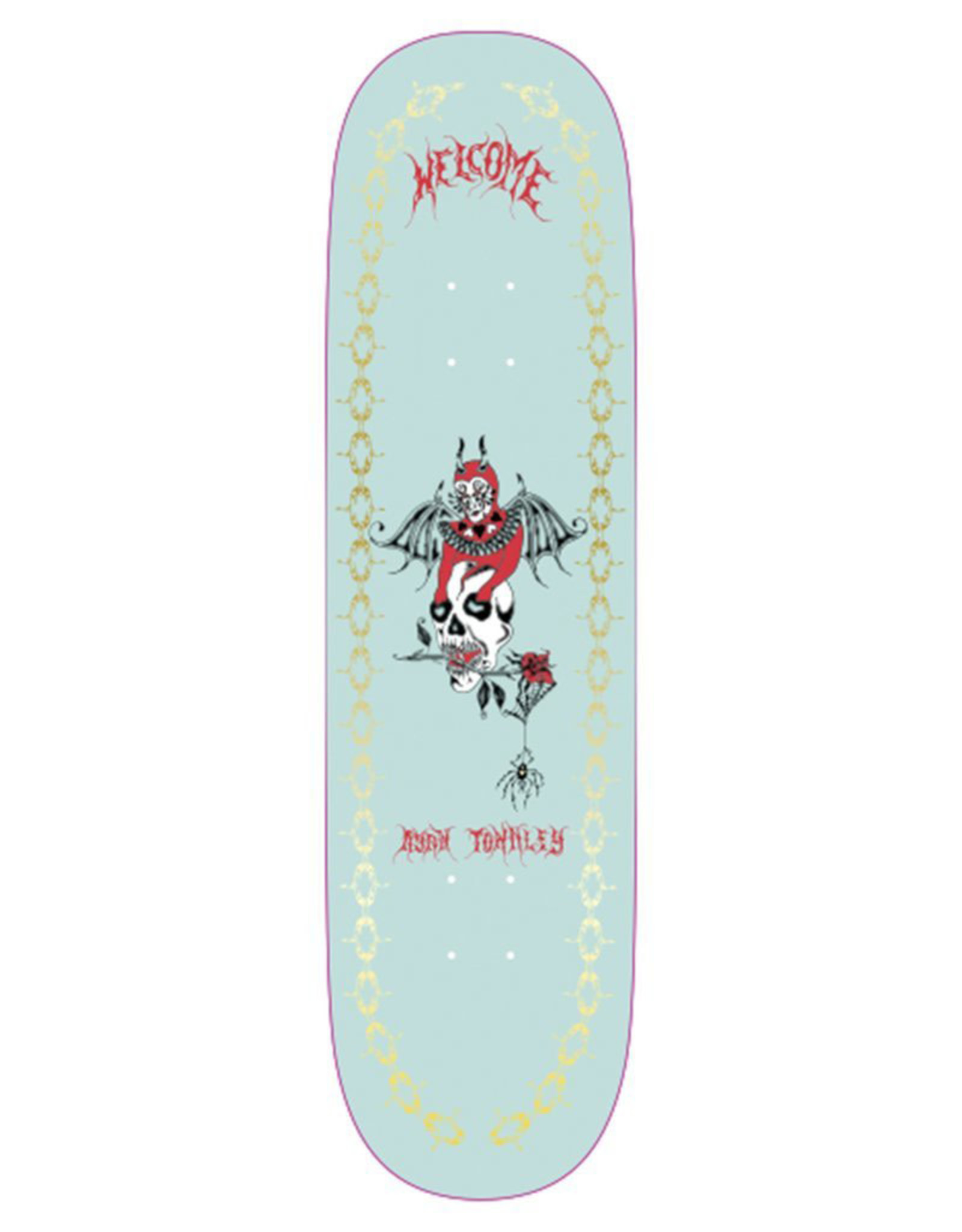 Welcome Welcome Deck Ryan Townley Angel On Enera Black/Silver Foil (8.6)