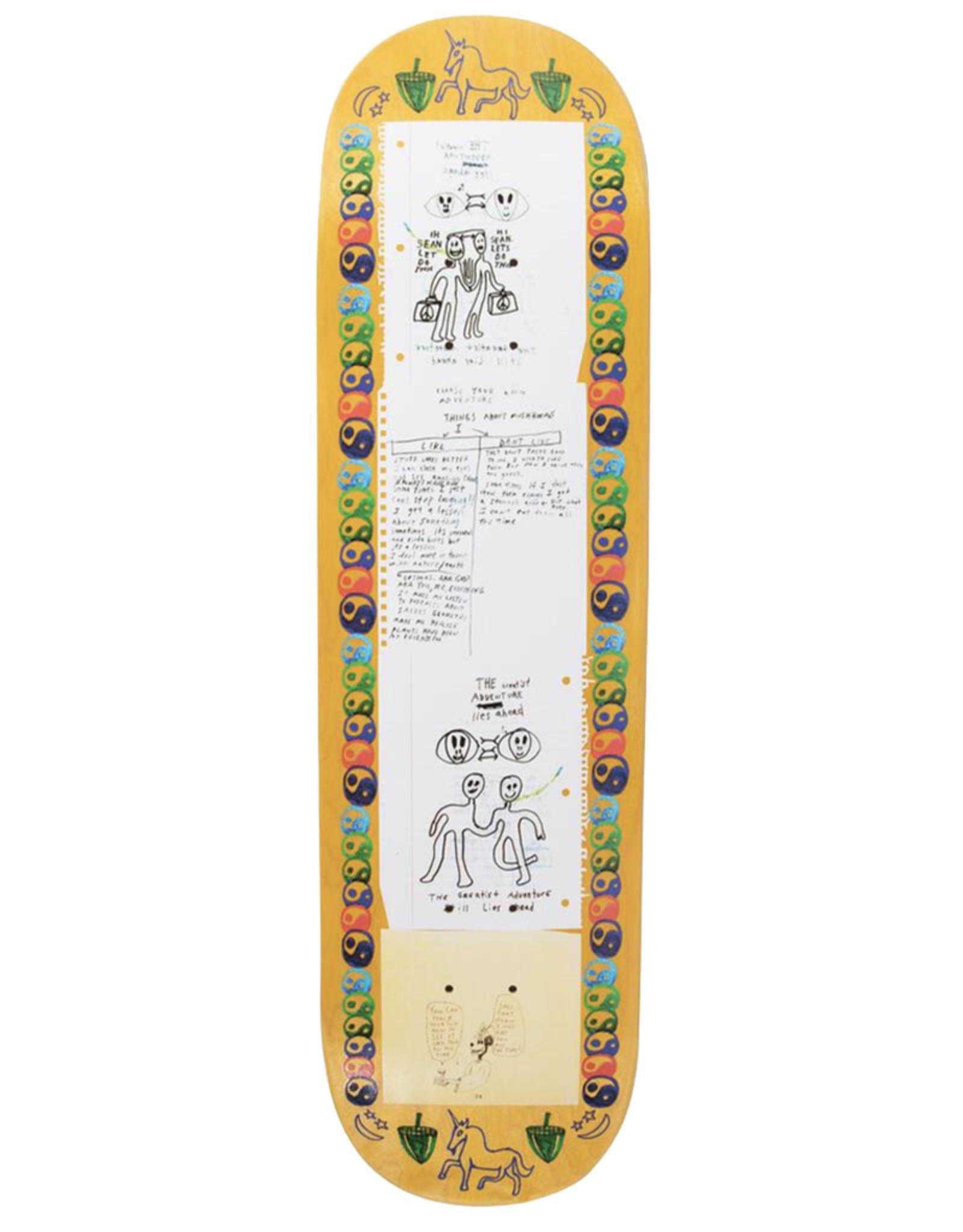 GX1000 GX-1000 Deck Sean Greene Pro Debut II Yellow (8.5)