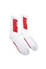 Hopps Huf Socks Big Hopps Crew (White)