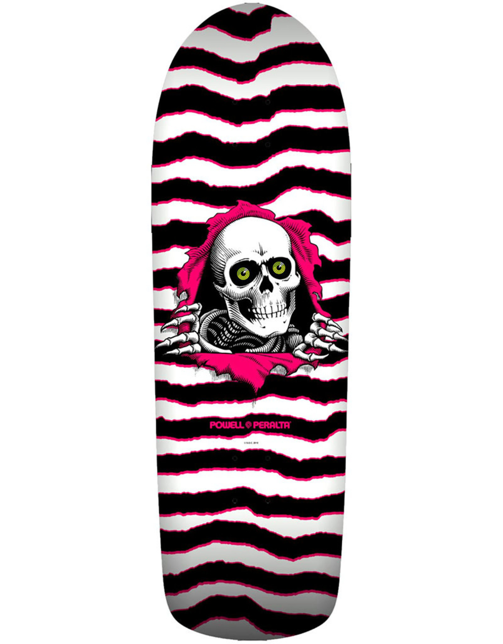 Powell Peralta Powell Peralta Deck Old School Ripper White/Pink (10.0)