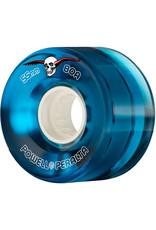 Powell Peralta Powell Peralta Wheels H8 Clear Blue Cruiser (55mm/80a)