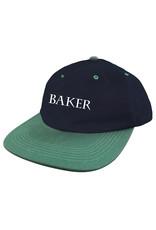 Baker Baker Hat Rye Snapback (Navy/Green)