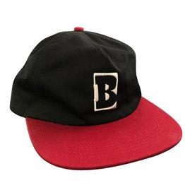 Baker Baker Hat Capital B Snapback (Black/Red)