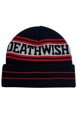 Deathwish Deathwish Beanie The Truth Cuff (Black/Red)