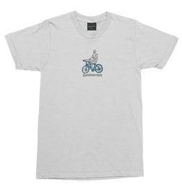 Gnarhunters Gnarhunters Tee Bicycle S/S (White)