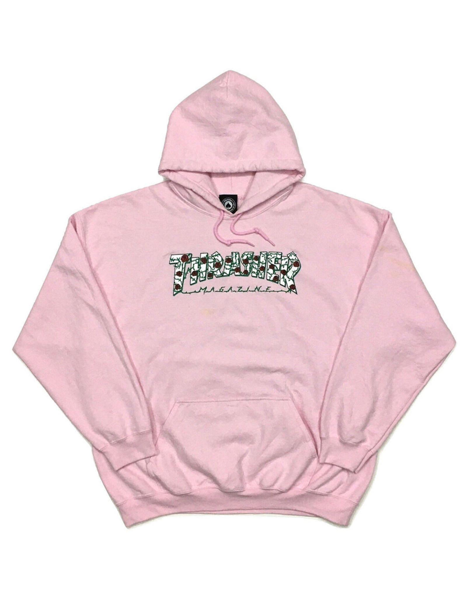 Thrasher Thrasher Hood Mens Roses (Light Pink)