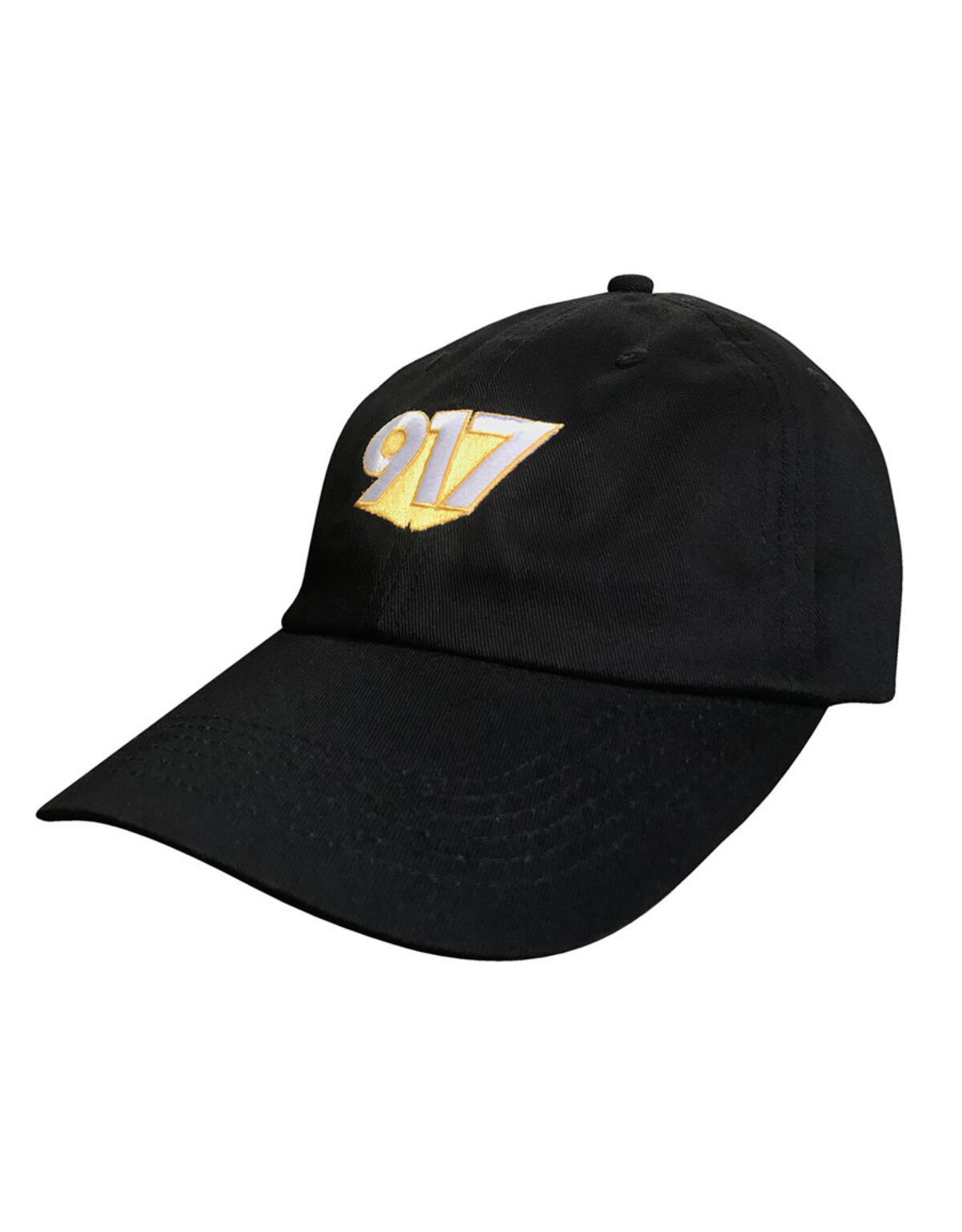 917 917 Hat 3D Dad Snapback (Black)