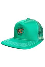 917 917 Hat Web Trucker Snapback (Green)