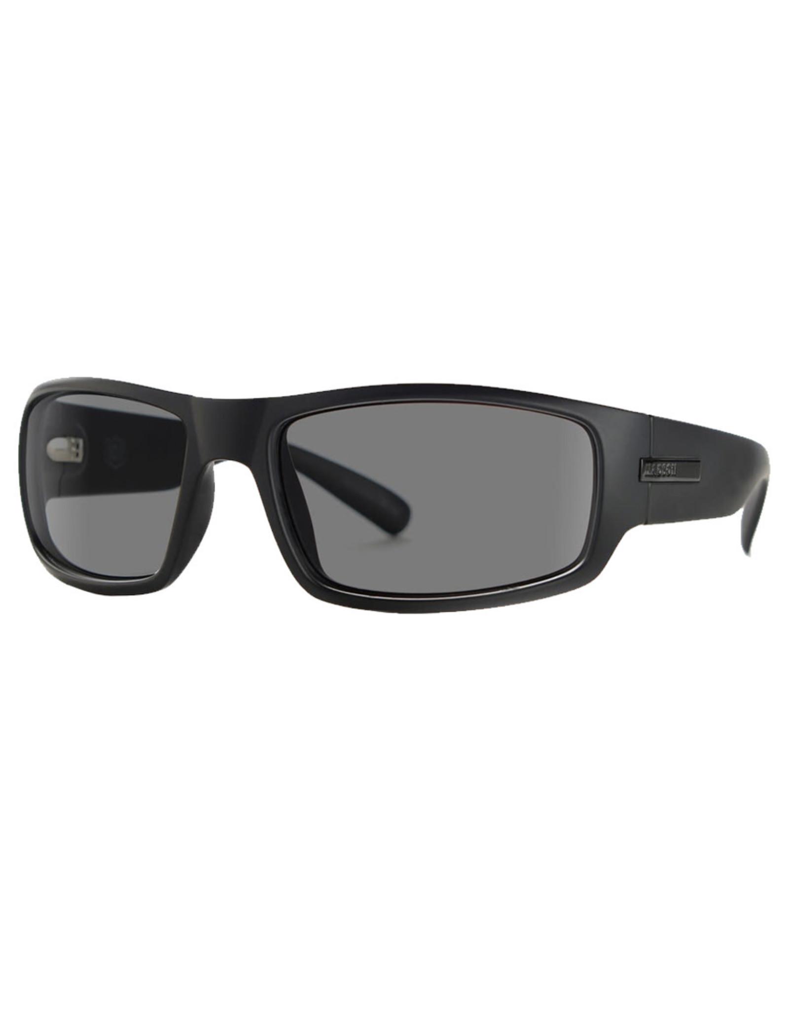 Madson Madson Sunglasses 101 (Black on Black/Grey Polarized Lens)