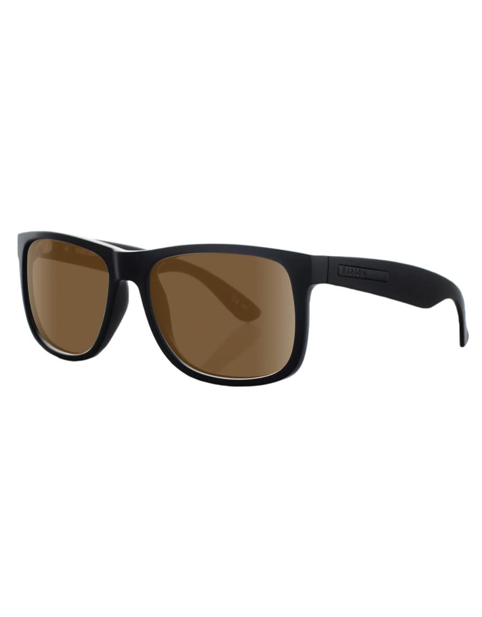 Madson Madson Sunglasses Vincent (Black On Black/Bronze Polarized Lens)