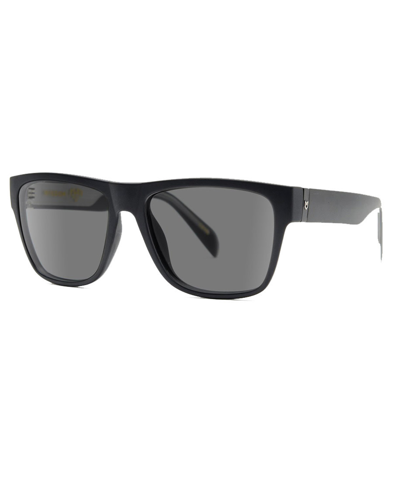 Madson Madson Sunglasses Wisdom (Black Matte/Grey Polarized Lens)