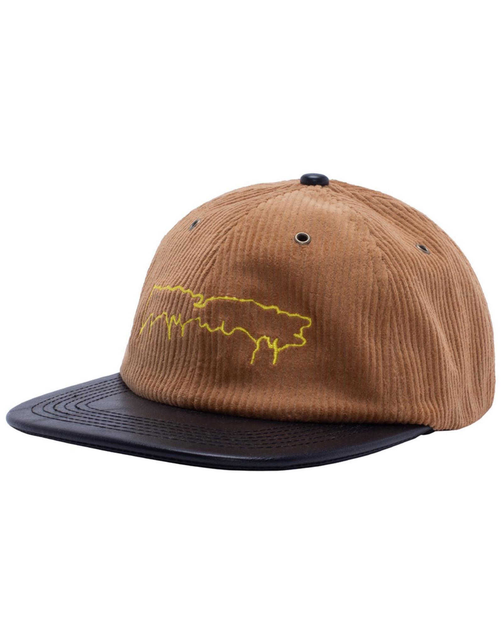 Fucking Awesome Fucking Awesome Hat Drip Corduroy Strapback (Carmel)